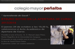 Apertura Curso CM Peñalba