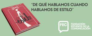 """Presentación del libro de Lorenzo Caprile """"De qué hablamos cuando hablamos de estilo"""""""